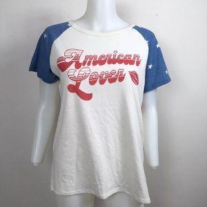 NWT Junk Food 'American Lover' T Shirt